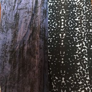 Two Pairs of Lysse Jacquard Leggings New Size XL